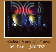 Voices - Monday's Finest